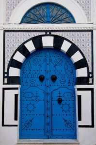 Door of Sidi Bou Saïd